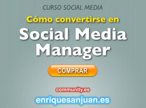 Curso video redes sociales y social media - Como convertirte en un Social Media Manager - Enrique San Juan